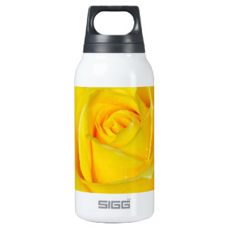 Beautiful yellow rose petals 0.3 litre insulated SIGG thermos water bottle