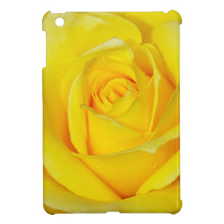 Beautiful yellow rose petals case for the iPad mini