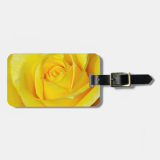 Beautiful yellow rose petals tags for bags