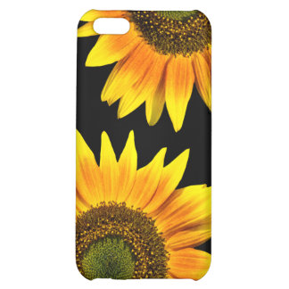 Beautiful yellow sunflowers cover for iPhone 5C