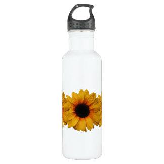 Beautiful Yellow Sunflowers 710 Ml Water Bottle