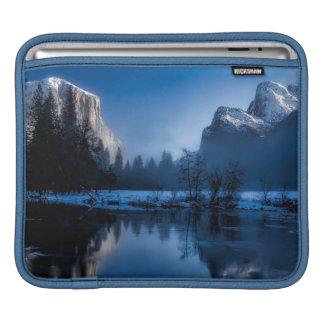 Beautiful yosemite national park landscape iPad sleeve