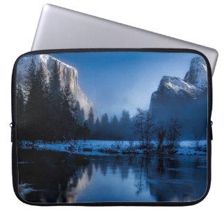 Beautiful yosemite national park landscape laptop sleeve