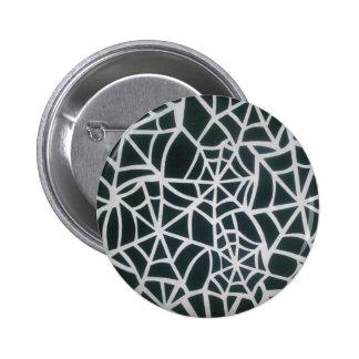 Beautiful Zebra Web of Black and White Stripes.JPG 6 Cm Round Badge