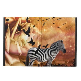 Beautiful zebra with birds powis iPad air 2 case