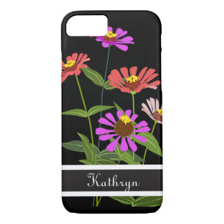 Beautiful Zinnias iPhone 8/7 Case