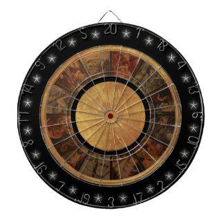 Beautiful Zodiac Wheel Dartboard