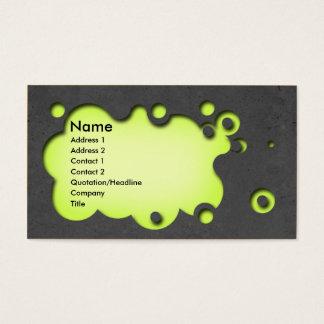 Beautifull customisable business card concrete