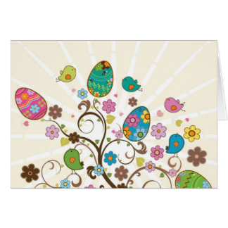 Beautifull East Eggs Design! Card