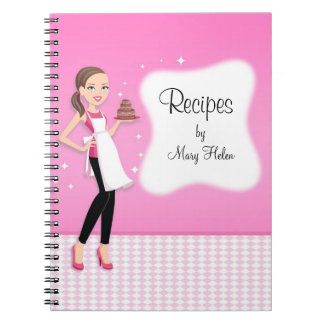 Beautifully Illustrated Recipe Jounal Notebook