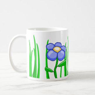 Beauty among the grass mug