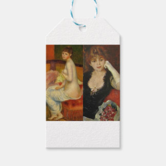 Beauty and Art can do everything Gift Tags