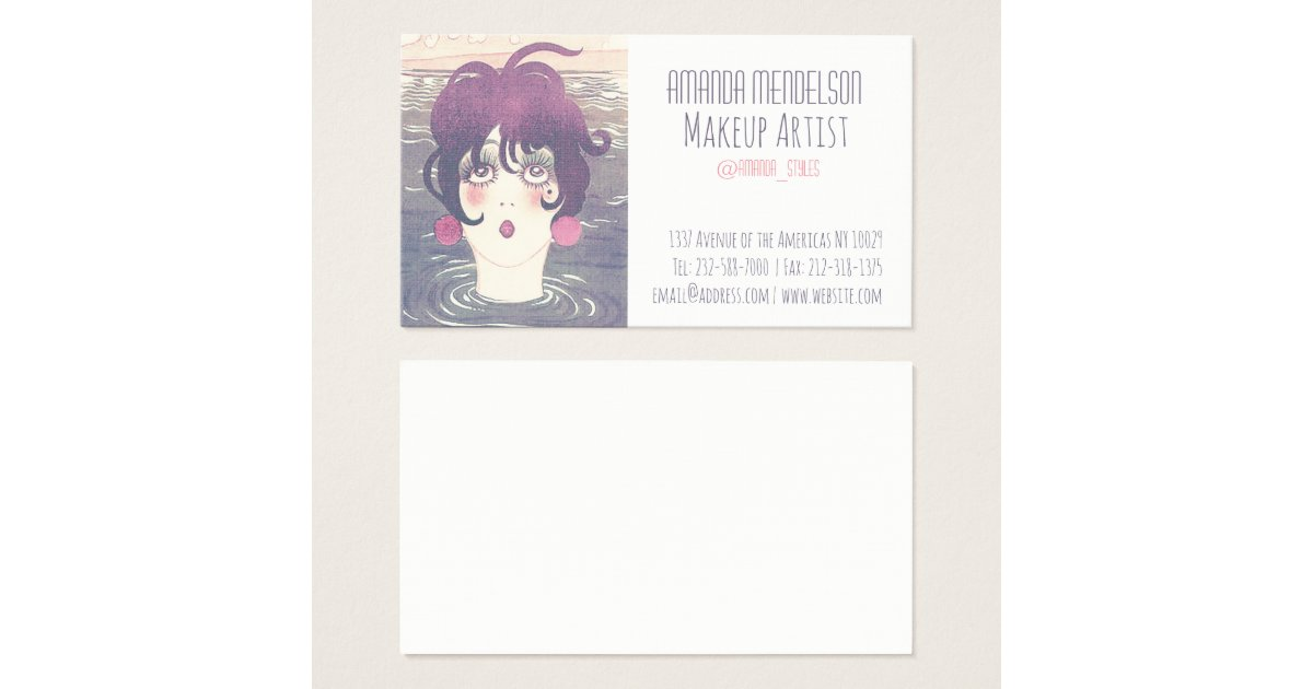 Beauty and fashion business card zazzle modern faux sequins beauty beauty and fashion business card zazzle reheart Gallery