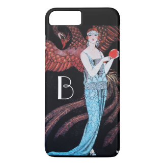 BEAUTY AND PHOENIX,FASHION,MAKE UP ARTIST MONOGRAM iPhone 7 PLUS CASE