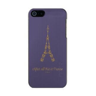 Beauty and the Beast | After All This Is France Incipio Feather® Shine iPhone 5 Case