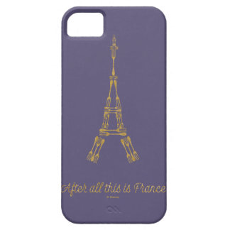 Beauty and the Beast | After All This Is France iPhone 5 Cases