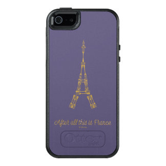 Beauty and the Beast | After All This Is France OtterBox iPhone 5/5s/SE Case