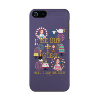Beauty And The Beast | Be Our Guest Incipio Feather® Shine iPhone 5 Case
