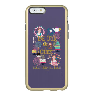 Beauty And The Beast | Be Our Guest Incipio Feather® Shine iPhone 6 Case