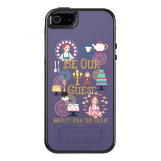 Beauty And The Beast | Be Our Guest OtterBox iPhone 5/5s/SE Case