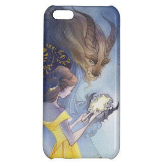 Beauty and the beast case for iPhone 5C