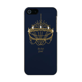 Beauty and the Beast | Chandelier - Be Our Guest Incipio Feather® Shine iPhone 5 Case