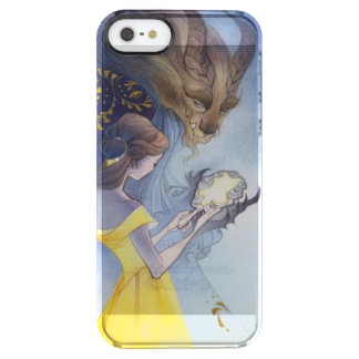 Beauty and the beast clear iPhone SE/5/5s case