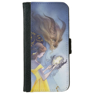 Beauty and the beast iPhone 6 wallet case