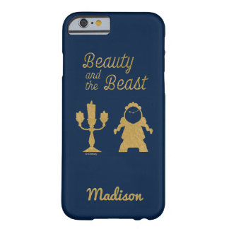 Beauty And The Beast | Lumiere & Cogsworth Barely There iPhone 6 Case
