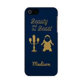 Beauty And The Beast | Lumiere & Cogsworth Incipio Feather® Shine iPhone 5 Case