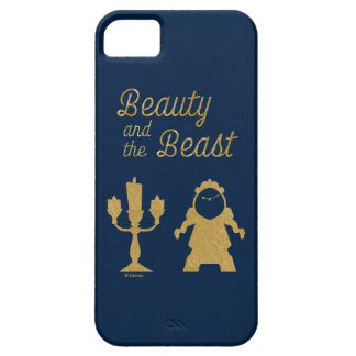 Beauty And The Beast | Lumiere & Cogsworth iPhone 5 Case