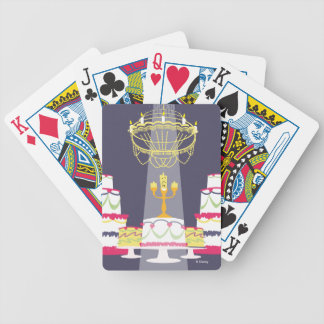 Beauty And The Beast | Lumiere With Cakes Bicycle Playing Cards