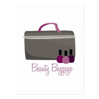 Beauty Baggage Postcard
