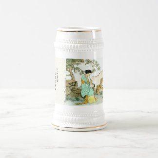 """Beauty & Beast"" Beer Stein"