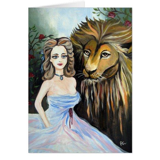 Beauty & Beast Card