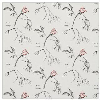 Beauty & Beast Rose Fabric