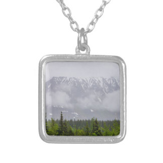 Beauty Behind The Clouds Silver Plated Necklace