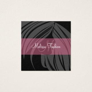 Beauty Business Cards Hair Style