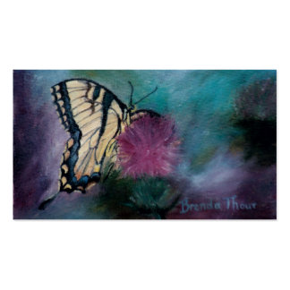 Beauty Butterfly Art Cards Pack Of Standard Business Cards