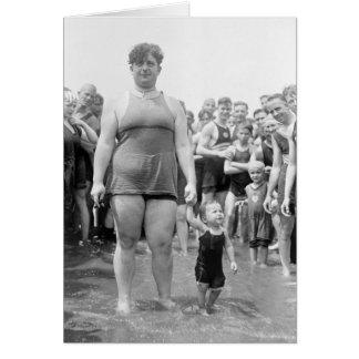 Beauty Contest on the Tidal Basin, 1919 Card