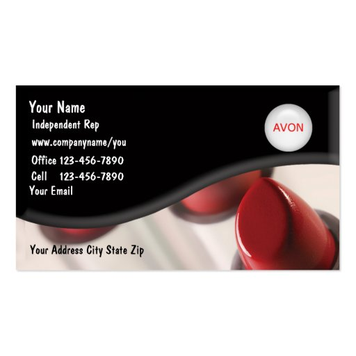 Beauty Cosmetologist Business Cards