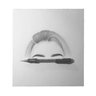 Beauty drawing - Note pad