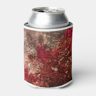 Beauty Floral Collage Can Cooler