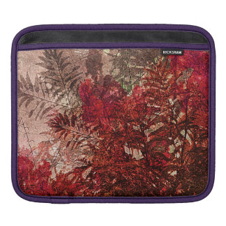 Beauty Floral Collage iPad Sleeve