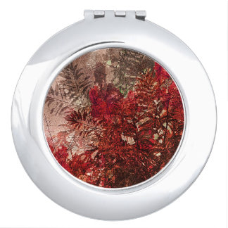 Beauty Floral Collage Mirrors For Makeup