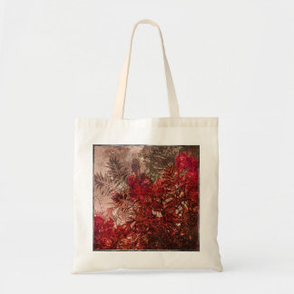 Beauty Floral Collage Tote Bag