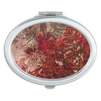 Beauty Floral Collage Vanity Mirror
