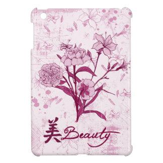 Beauty floral design iPad mini cover