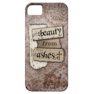 Beauty From Ashes Christian Damask Inspirational iPhone 5 Cover