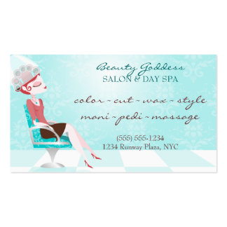 Beauty Goddess Appointment Business Card